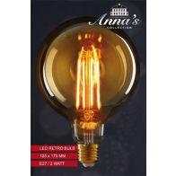 LED RETRO LAMP 125X175MM E27 2W