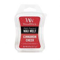 WOODWICK CINNAMON CHEER MINI WAX MELT