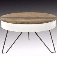 ICATCHERS KOFFIETAFEL SARIA RECLAIMED WIT 80X48CM