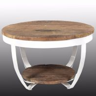 ICATCHERS KOFFIETAFEL RECLAIMED WIT 70X43CM